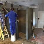 Renovations Stellenbosch Cape Town constructed shower area