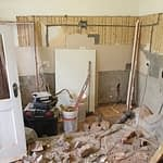 Kitchen renovation Cape Town, demolishing walls for renovation